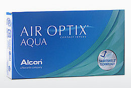 Контактные линзы Alcon AIR OPTIX AQUA (AIR OPTIX AQUA AOA6)