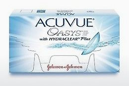 Контактные линзы Johnson & Johnson ACUVUE OASYS with HYDRACLEAR Plus PH-6P-REV