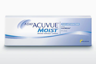 Контактные линзы Johnson & Johnson 1 DAY ACUVUE MOIST for ASTIGMATISM 1MA-30P-REV
