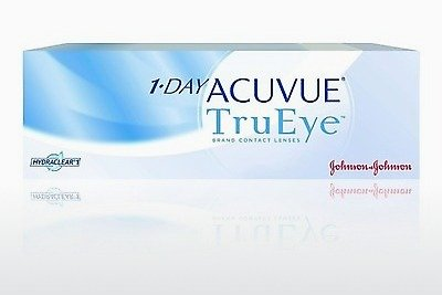 Контактные линзы Johnson & Johnson 1 DAY ACUVUE TruEye 1D4-90P-REV