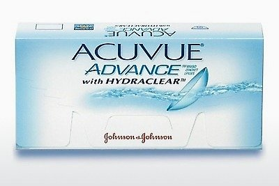 Контактные линзы Johnson & Johnson ACUVUE ADVANCE with HYDRACLEAR AVG-6P-REV