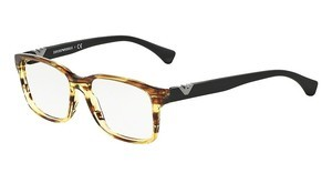 Emporio Armani EA3042 5280 STRIPED YELLOW