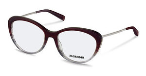 Jil Sander J4001 N Dark Red Gradient