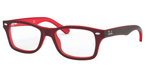 Ray-Ban Junior RY1531 3592 TOP RED ON OPALIN RED