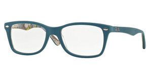 Ray-Ban RX5228 5407 TOP MAT BLUE ON TEX CAMUFLAGE
