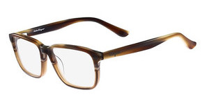 Salvatore Ferragamo SF2738 217 BROWN HORN COGNAC