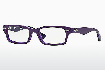 Дизайнерские очки Ray-Ban Junior RY1530 3589 - пурпурная, прозрачная