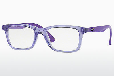 Дизайнерские очки Ray-Ban Junior RY1562 3688 - прозрачная, пурпурная