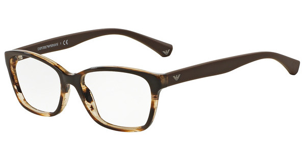 Emporio Armani EA3060 5386 STRIPED BROWN