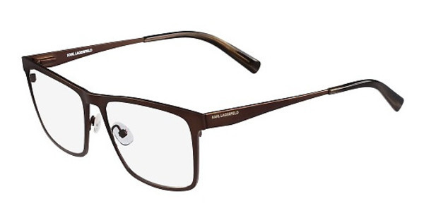 Karl Lagerfeld KL243 502 SATIN BROWN