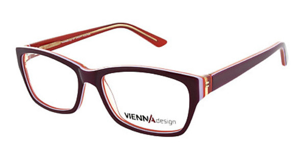 Vienna Design UN526 03 wine-lavender-orange-x'tal orange