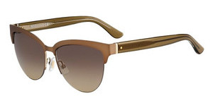 Boss BOSS 0678/S UFM/6P BROWN FL GOLDBWGD GRID (BROWN FL GOLD)