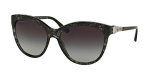 Bvlgari BV8158 53668G GREY GRADIENTVARIEGATED BLACK