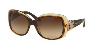 Bvlgari BV8172B 537913 BROWN GRADIENTTOP HAVANA/BROWN CRYSTAL