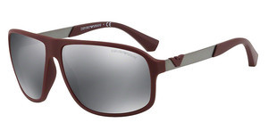 Emporio Armani EA4029 56066G LIGHT GREY MIRROR BLACKBORDEAUX RUBBER