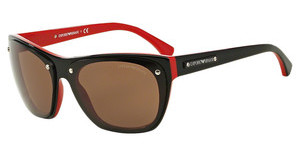 Emporio Armani EA4059 506173 BROWNTOP BLACK ON RED