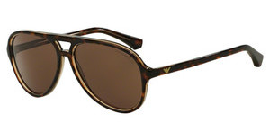 Emporio Armani EA4063 546573 BROWNTOP HAVANA ON TR BEIGE
