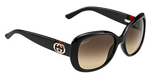 Gucci GG 3644/S D28/ED BROWN DSSHN BLACK (BROWN DS)