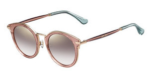 Jimmy Choo RAFFY/S QAU/NH BROWN MS GLDRD GLTTRD