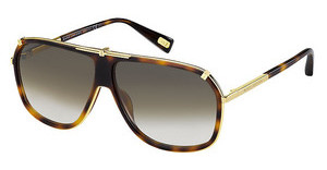 Marc Jacobs MJ 305/S 001/JS BROWN SFYELL GOLD