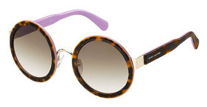 Marc Jacobs MJ 587/S 51Q/CC BROWN SFHVNA PINK (BROWN SF)