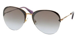 Miu Miu MU 53PS 7OE2H2 VIOLET GRAD. BROWN MIR. SILVERANTIQUE GOLD