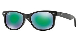 Ray-Ban Junior RJ9052S 100S3R LIGHT GREEN MIRROR GREENMATTE BLACK