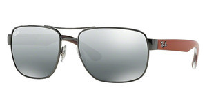 Ray-Ban RB3530 004/88 GRAY SILVER MIRROR GRADIENTGUNMETAL