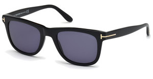 Tom Ford FT0336 01V blauschwarz glanz