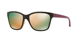 Vogue VO2896S W6565R DARK GREY MIRROR PINKDARK HAVANA