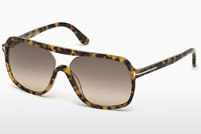 Солнцезащитные очки Tom Ford Robert (FT0442 53F) - гавана, Yellow, Blond, Brown