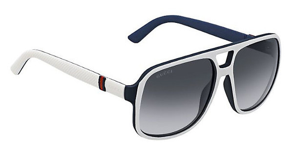 Gucci GG 1115/S M24/9O DARK GREY SFWHITEBLUE (DARK GREY SF)