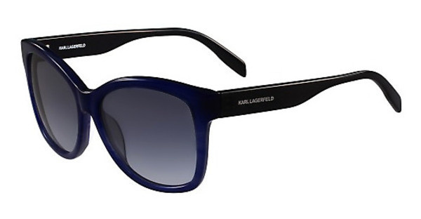 Karl Lagerfeld KL909S 041 BLUE STRIPED