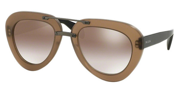 Prada PR 28RS UBU4O1 GRADIENT BROWN MIRROR GOLDMATTE DARK BROWN TRANSP