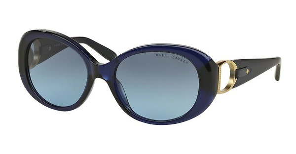 Ralph Lauren RL8118Q 50338F GRADIENT BLUESHINY DARK BLUE
