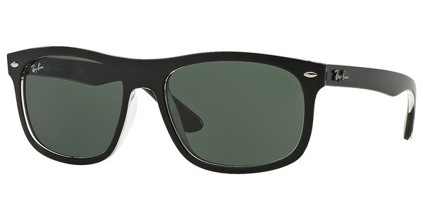 Ray-Ban RB4226 605271 DARK GREENTOP MATTE BLACK ON TRASP