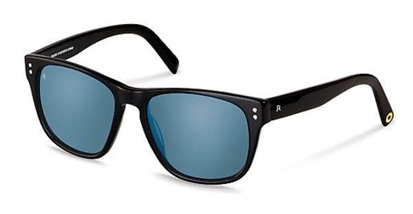 Rocco by Rodenstock RR307 A blue mirror - 88%black