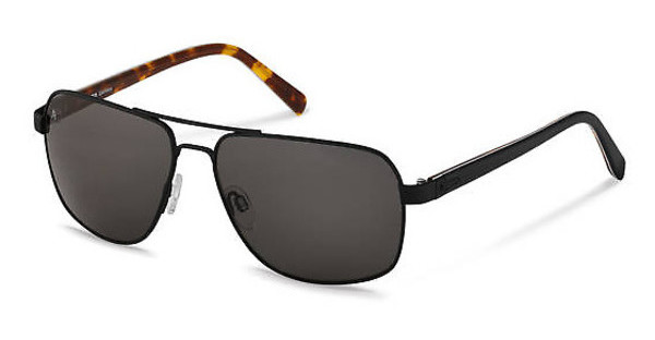 Rodenstock R1413 A polarized - grey - 84%black, black havana layered