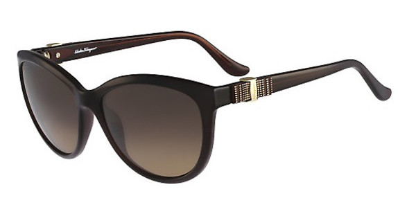 Salvatore Ferragamo SF760S 210 BROWN