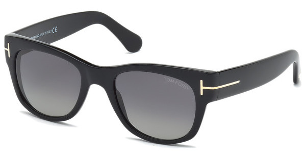 Tom Ford   FT0058 01D grau polarisierendschwarz glanz