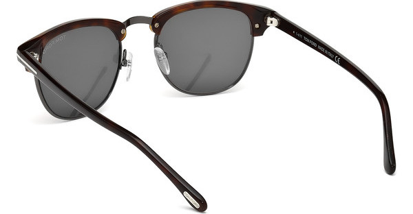 Tom Ford FT0248 52A grauhavanna dunkel
