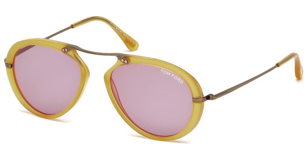 Tom Ford FT0473 39Y violettgelb glanz