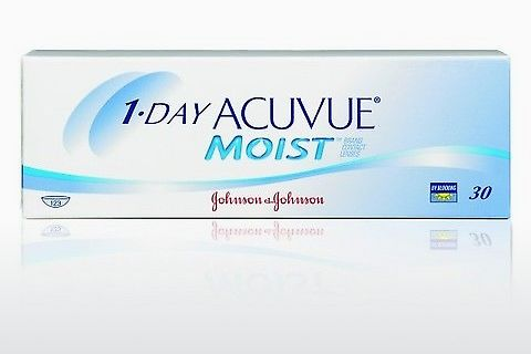 Контактные линзы Johnson & Johnson 1 DAY ACUVUE MOIST 1DM-90P-REV