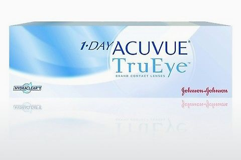 Контактные линзы Johnson & Johnson 1 DAY ACUVUE TruEye 1D4-30P-REV