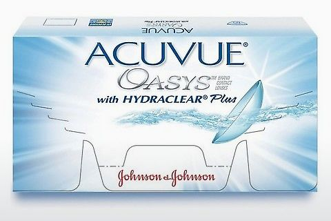 Контактные линзы Johnson & Johnson ACUVUE OASYS for ASTIGMATISM CYP-12P-REV