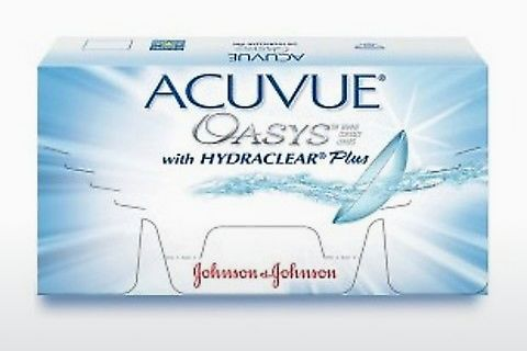 Контактные линзы Johnson & Johnson ACUVUE OASYS with HYDRACLEAR Plus PH-12P-REV