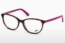 Дизайнерские  очки Web Eyewear WE5214 053 - гавана, Yellow, Blond, Brown