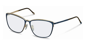 Rodenstock R2569 D dark blue, light gold