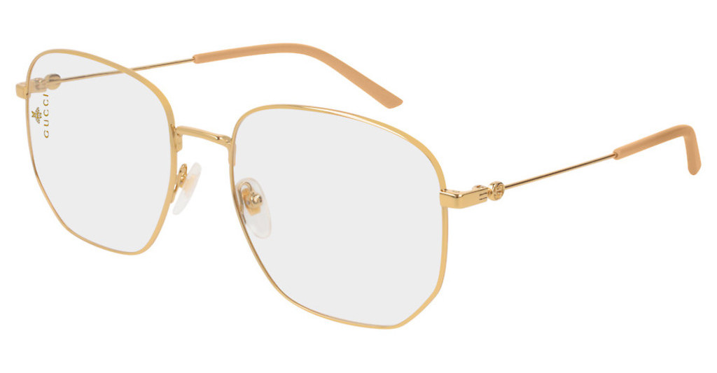 Gucci   GG0396S 001 TRANSPARENTGOLD