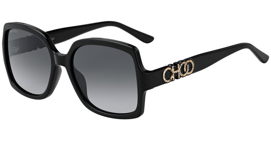 Jimmy Choo   SAMMI/G/S 807/9O DARK GREY SFBLACK